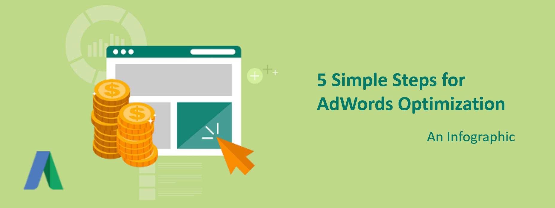 5 Simple Steps for AdWords Optimization [infographics]