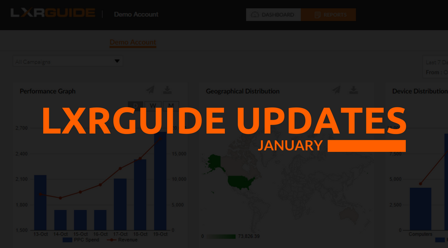 LXRGuide January Updates: Notifications are here!