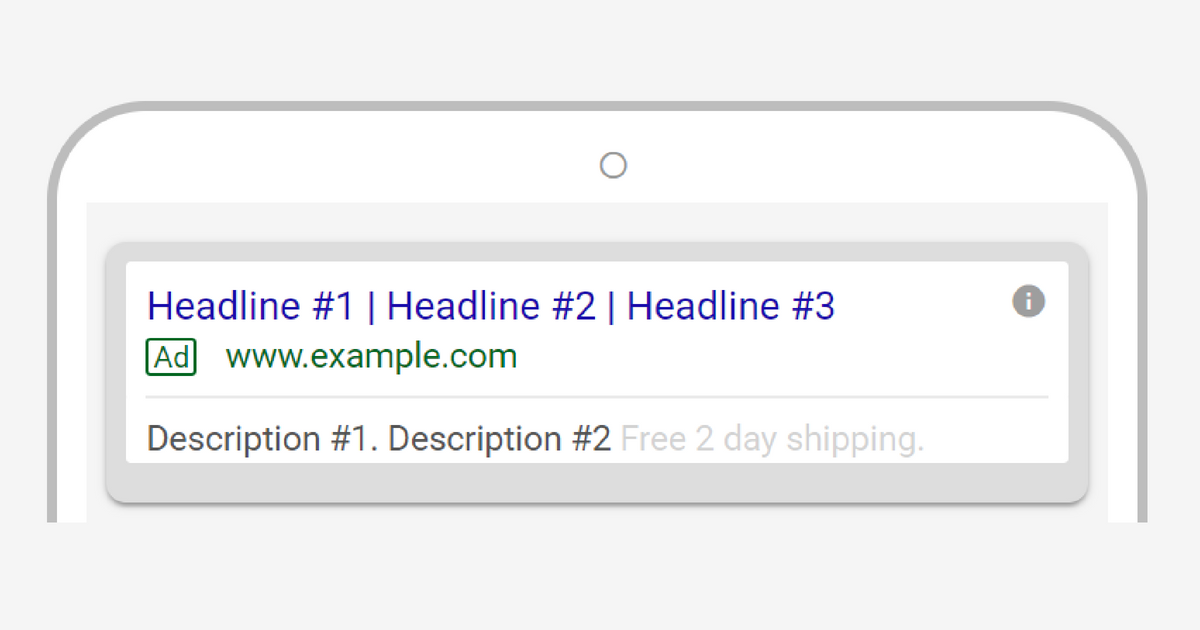 You Can Now Add a Third Headline & Second Description to Your ETAs