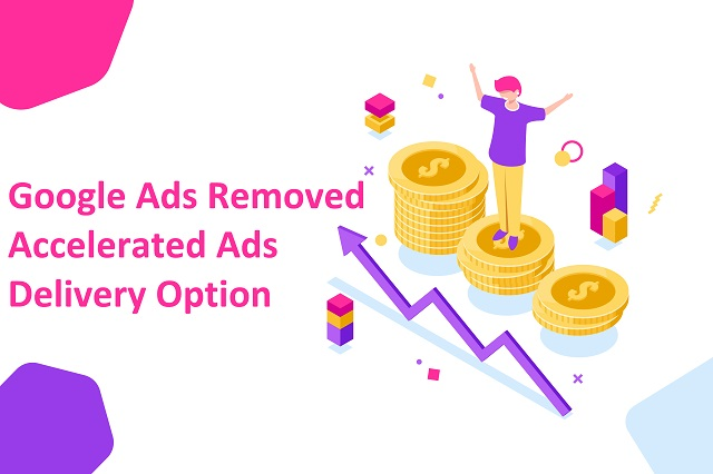 Will 'no accelerated budget delivery option' affect my Google Ads account?