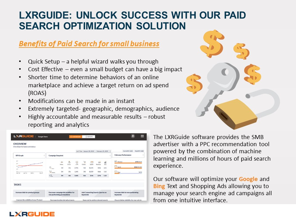Unlock paid search success with LXRGuide